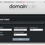 DomainHole, la mejor herramienta para encontrar buenos dominios