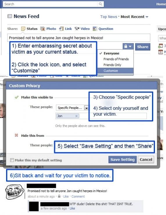 La mejor forma de jugarle una broma a un amigo en Facebook