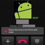 Aplicaciones para Android: ShakeCall, contesta o termina llamadas agitando el teléfono