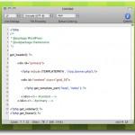 CotEditor, un editor de código minimalista para Mac OS X