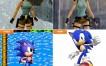 Los personajes de los juegos más populares… antes y ahora [Imagen]