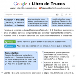 Cheat Sheet para Google +