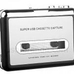 """""""Walkman USB"""" para reproducir los viejos cassettes en la computadora"""