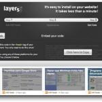 Layers: Agrega una barra en tu sitio con contenidos de otros sitios web
