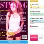 Crear fotomontajes de revistas y pósters personalizados con Posterini
