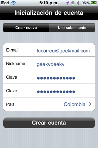 Enviar mensajes SMS gratis desde iPhone o iPod Touch