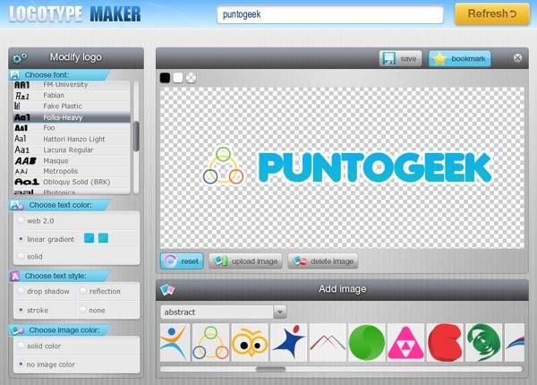 Logotype maker el mejor sitio para dise ar logos online for Paginas para hacer planos gratis
