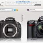 Camera Size: Compara el tamaño de cualquier cámara digital