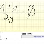 Web Equation – Escribe fácilmente fórmulas y ecuaciones