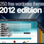 250 temas WordPress gratuitos año 2012