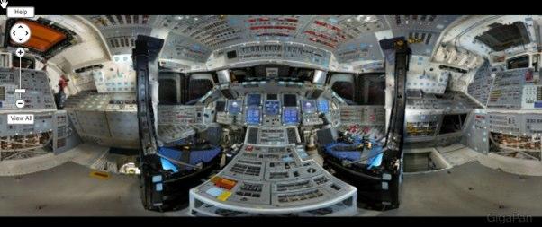 Un paseo por el transbordador espacial Discovery en HD
