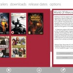 "Concepto de un ""Game Center"" en Windows 8"