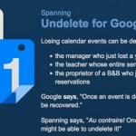 Recuperar eventos borrados de Google Calendar