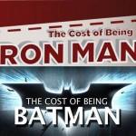 Ser IronMan cuesta más que ser Batman [Infografías]