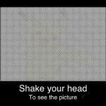Ilusiones ópticas: ¡Sacude la cabeza!