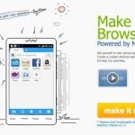 Maxthon te permite crear tu propio navegador personalizado para Android