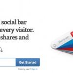 Wibiya: Barra que permite compartir nuestros posts en redes sociales y ganar tráfico