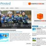 Posted: Un tema limpio y elegante para WordPress