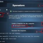 Sysrestore: Programa gratuito para hacer backups y restaurar información [Windows]