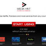 Como utilizar Netflix, Pandora, Hulu y Rdio en cualquier país