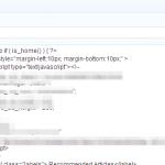 Cómo ejecutar código PHP en los widgets de WordPress sin plugins