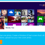 Crea covers para Facebook con el estilo de Windows 8