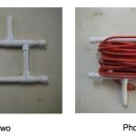 Cómo crear un carrete para enrollar cable con unos tubos de PVC