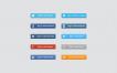 Botones de redes sociales para iniciar sesión gratuitos