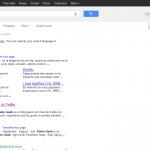 Google tiene nuevo diseño en las páginas de resultados