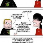 Linux es para mujeres y Windows para hombres [Humor]