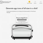 Makeappicon: Crea iconos en todos los tamaños para tu aplicación movil con previsualización