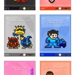 Celebra San Valentín al mejor estilo Gamer con estás tarjetas retro