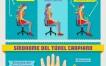 Recomendaciones y ejercicios para usar la computadora de manera saludable