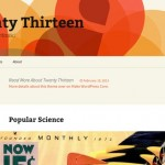 Twenty Thirteen: El futuro tema (feo) por defecto de WordPress
