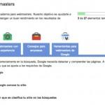 Google te enseña a optimizar tu sitio para su buscador en la Academia para Webmasters