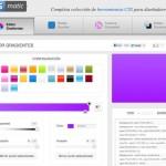 CSS Matic: generar estilos CSS con degradados, esquinas redondeadas, texturas y sombras online