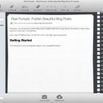 PixelPumper: Cliente de blogging gratuito para Mac