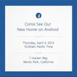 Facebook prepara algo grande para Android