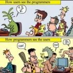Usuarios vs. Programadores [Humor]