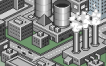 SimCity estilo Pixel art