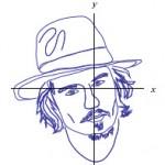 Retratos de famosos con ecuaciones matemáticas en Wolfram|Alpha