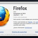 Firefox 20: Nuevo gestor de descargas y navegación privada en nueva ventana