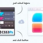 CSS3Ps: Plugin para convertir PSD a CSS3 con Photoshop