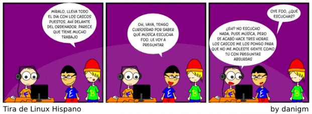 Audífonos en la oficina [Humor]