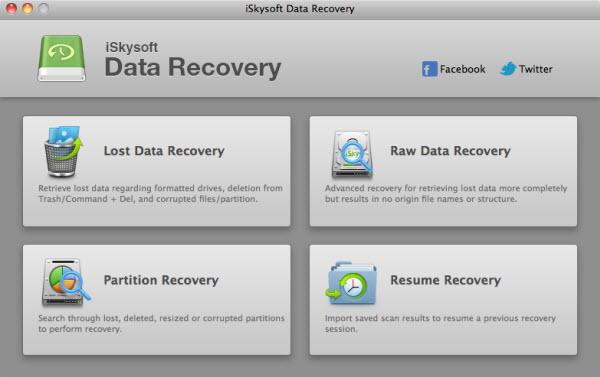 Descargar iSkysoft Data Recovery: Programa para recuperar archivos borrados en Mac
