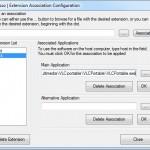 Asociar extensiones de archivos a aplicaciones portables con eXpresso