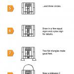 Guía simple para aprender a dibujar un R2-D2 y C-3PO