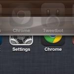 Slide2Kill: Cerrar todas las apps abiertas en el iPhone con un swipe