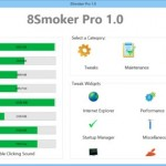 8Smoker Pro: Completa herramienta para optimizar Windows 8