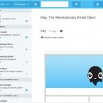 Inky, un cliente de mail multicuenta con un diseño muy atractivo